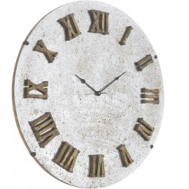 Midas Antique Glass Mirror Wall Clock