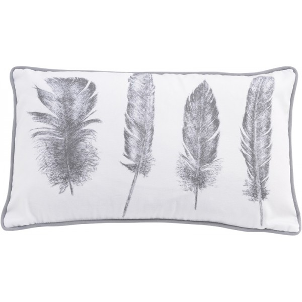 John Piper Floating Feather Cushion  - Rectangular