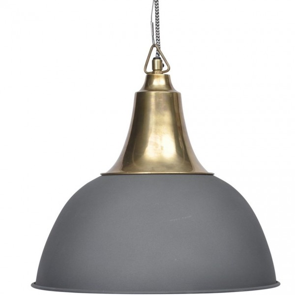 Merle Matt Black Ceiling Pendant - Small