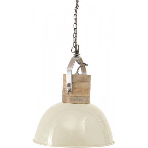 Merle Cream Ceiling Pendant – Medium