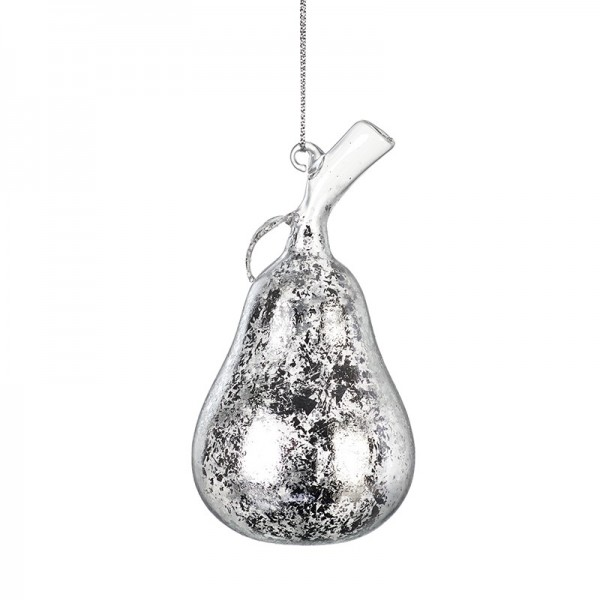 Glass Hanging Pear