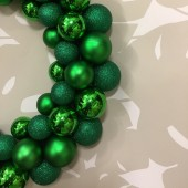 Bauble Wreath - Green