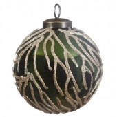 Luxury Forest Green Baubles 8cm