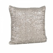 Mini Sequin Gold Cushion