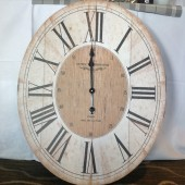 Parisienne Wooden effect Wall Clock - Quartz Movement