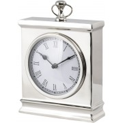 Amesbury Nickel Mantel Clock - Large