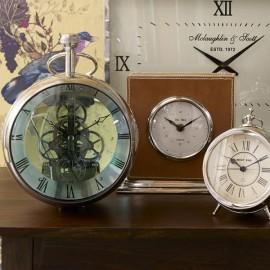 Jumbo Nickel Bulbous Clock