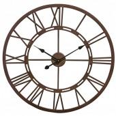 Vistini Outdoor Clock – Distressed Brown
