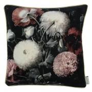 Moody Blooms Cushion - Velvet