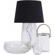 Cut Glass Diamond Table Lamp