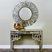 Claridge Deco Round Mirror