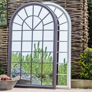 Orlanda Outdoor Mirror – Brown