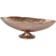 Copper Aluminium Footed Bowl