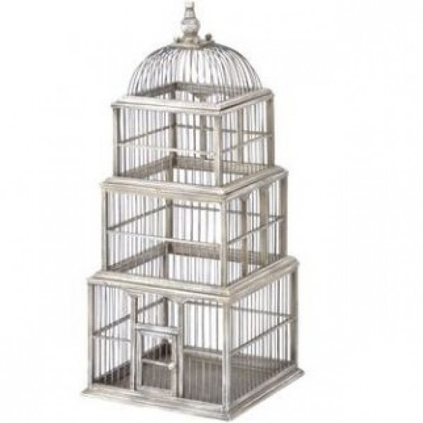 Tiered Square Birdcage