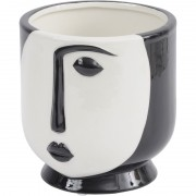Dolomite Face Planter in Black - Small