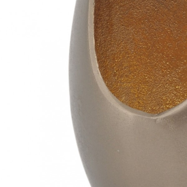 Empire Gold Flame Vase - Large