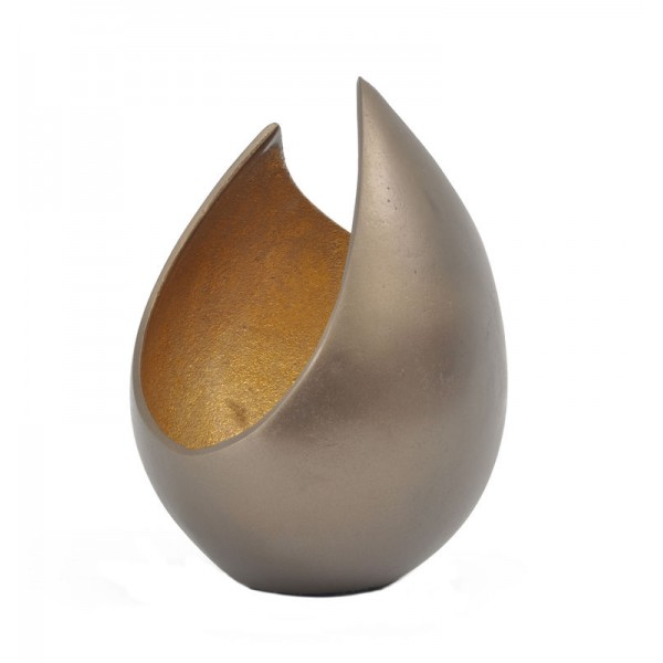 Empire Gold Flame Vase – Small