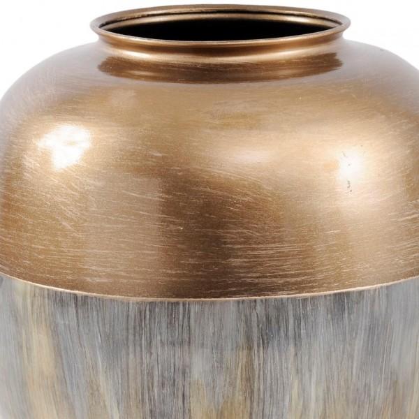 Winslow Brass and Enamel Rounded Vase