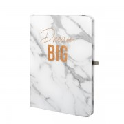 Dream Big Marble Notebook - Grey