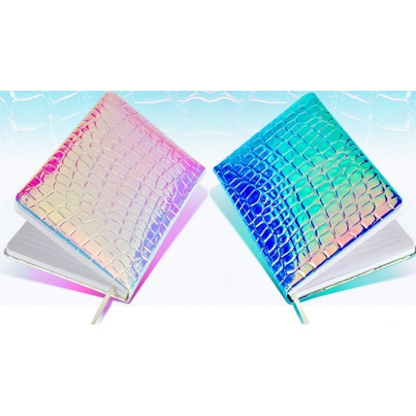 Iridescent Notebook-Purple