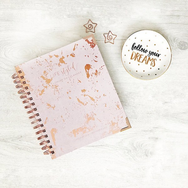 Lifestyle Planner - Rose Gold