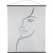 Female Figure Cotton Hanging Wall Art