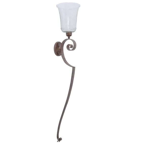Verdigris Wall Sconce - Large