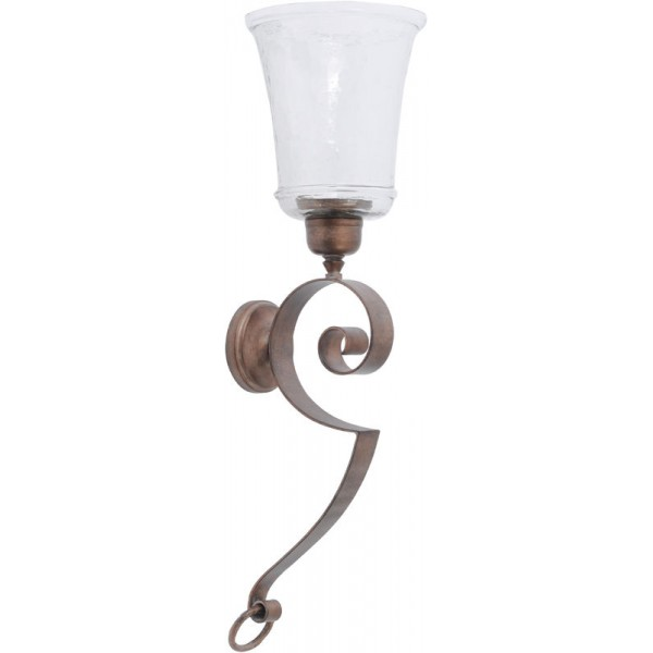 Verdigris Wall Sconce - Small