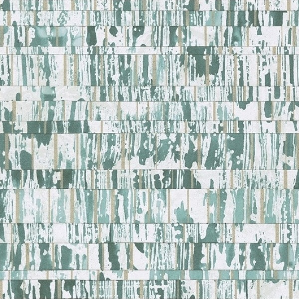 Designer Wallpaper - Brian Yates - Small Design in Green