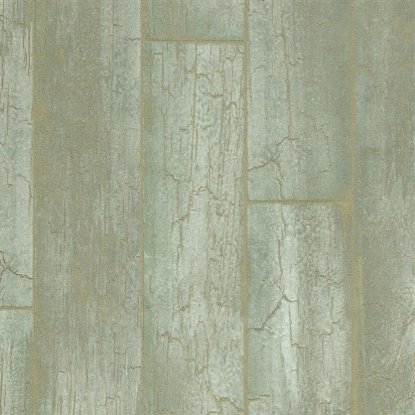 Designer Wallpaper - Brian Yates - Wood Effect - Green