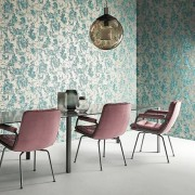 Designer Wallpaper Anthropic -  Pewter