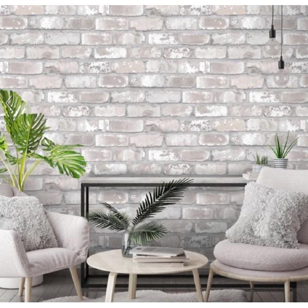 Designer Wallpaper - Expose Brick Effect Yorkshire, UK | United ...
