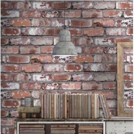 Designer Wallpaper - Real Brick