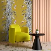 Designer Wallpaper – Botanical Golden Mustard